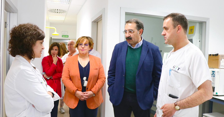 La Gerencia de Atención Integrada de Tomelloso integra un laboratorio de Investigación biomédica en su actividad científica