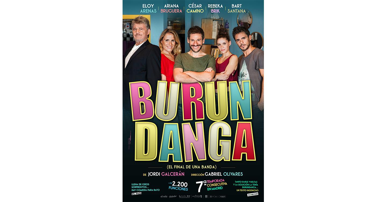 A la venta las localidades para el espectáculo teatral Burundanga