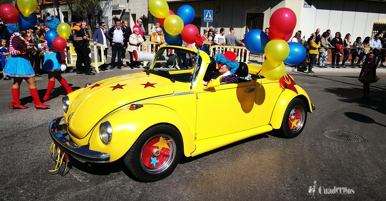 El XXXIII Desfile Escolar, de Interés Turístico Regional, llena de color y diversión las calles de Tomelloso