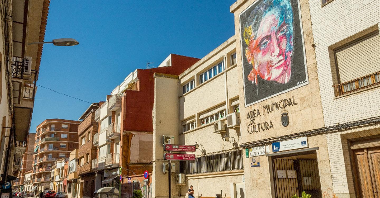 """A punto de finalizar el proyecto """"Arte Urbano"""" de la concejalía de Juventud"""