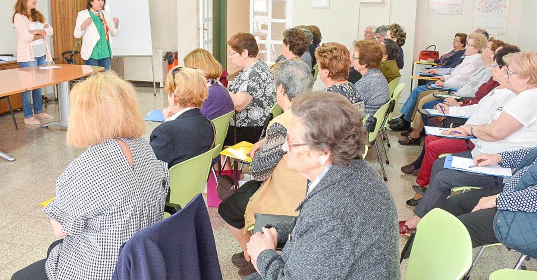 """Abierto el plazo de inscripción para el taller """"Mente en forma"""" dirigido a mayores"""