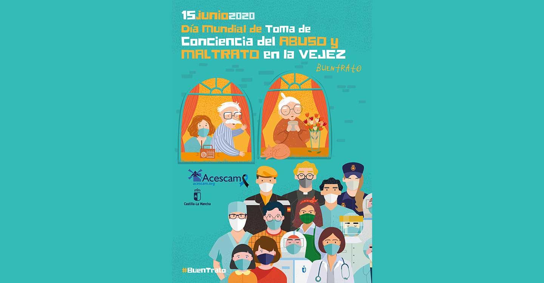 """ACESCAM """"desea"""" el compromiso de toda la sociedad para seguir mejorando el cuidado de las personas mayores"""
