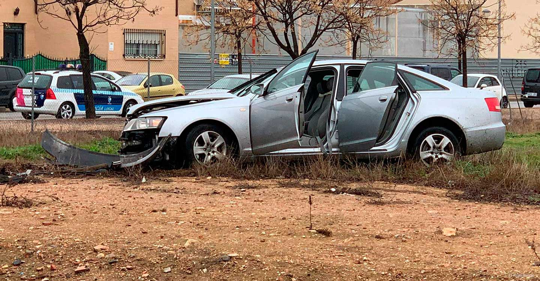 Accidente en Tomelloso en el cruce de la Calle Asturias y Carretera de la Ossa de Montiel