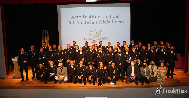 Tomelloso reconoce todo el esfuerzo y trabajo de la Policía Local en el Día del Santo Ángel de la Guarda