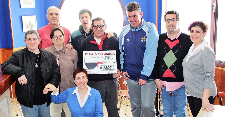 AFAS recibe la recaudación de la IV Cata Solidaria