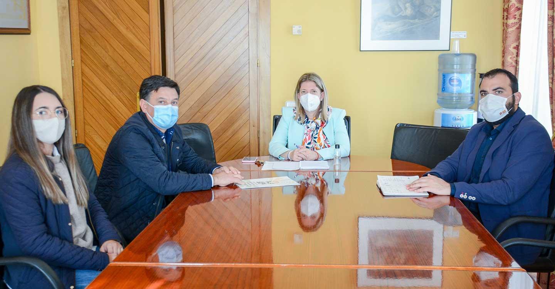 La alcaldesa de Tomelloso se reúne con el secretario general de UPA Castilla-La Mancha para analizar la situación del sector agrario