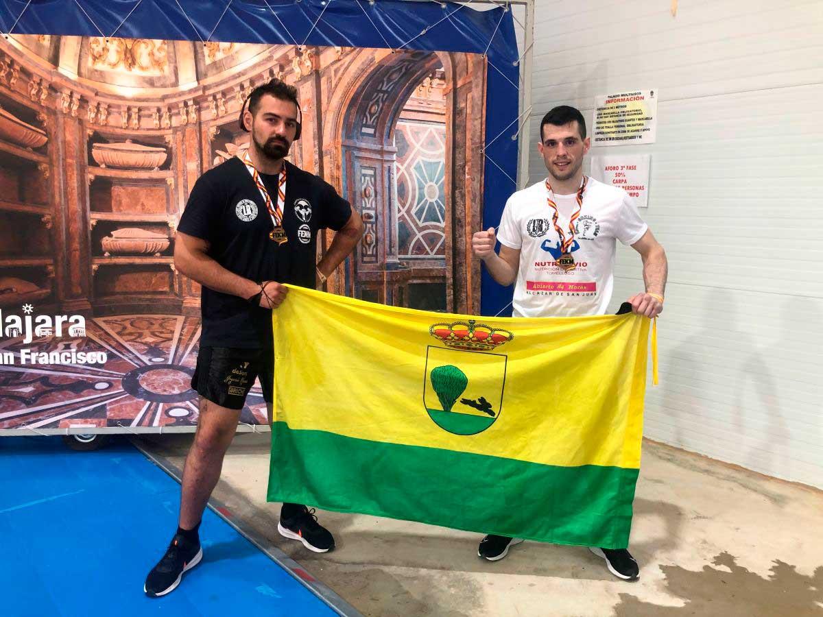 Vajtan Shanava y Pedro Alcolea medallas de oro en el Campeonato de España celebrado en Guadalajara
