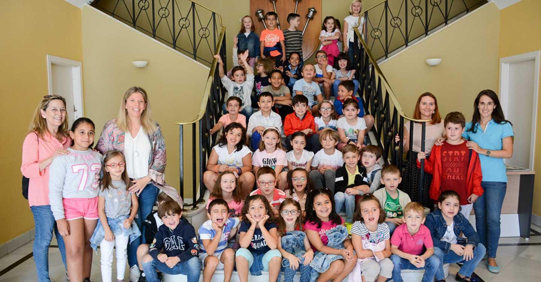 Alumnos del Miguel de Cervantes visitan el Ayuntamiento de Tomelloso