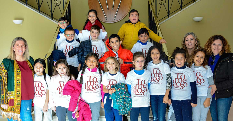 Alumnos de segundo curso del Alimirante Topete visitan el Ayuntamiento de Tomelloso