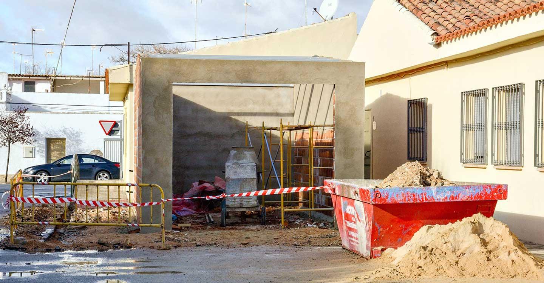 En ejecución una pequeña ampliación en el Centro de Barrio del Carmen de Tomelloso