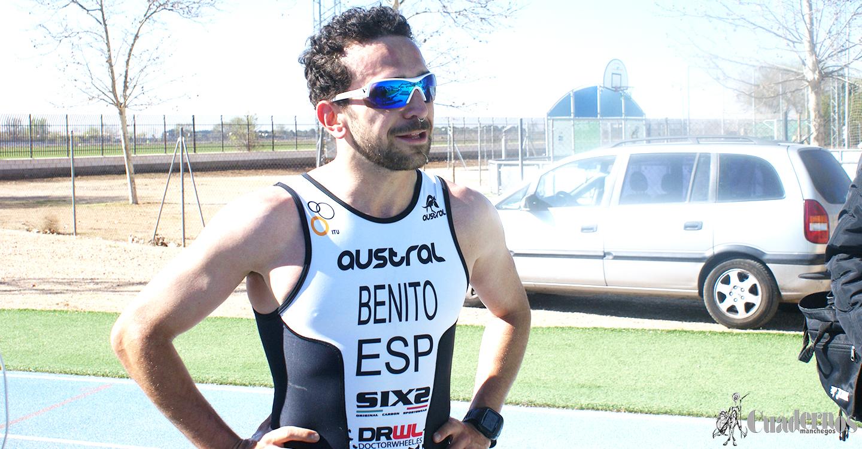 """Antonio Benito ganador del Duatlón """"Ciudad de Tomelloso"""""""