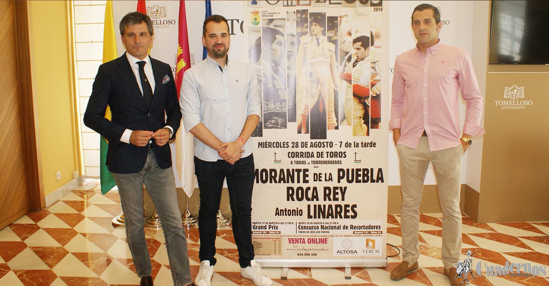 Antonio Linares acompañará a Roca Rey y Morante en la corrida de Feria