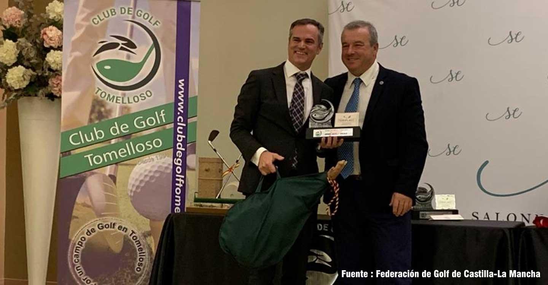 Antonio Negrillo dirigirá la delegación de Castilla-La Mancha de la Asociación Española de Jugadores de Golf