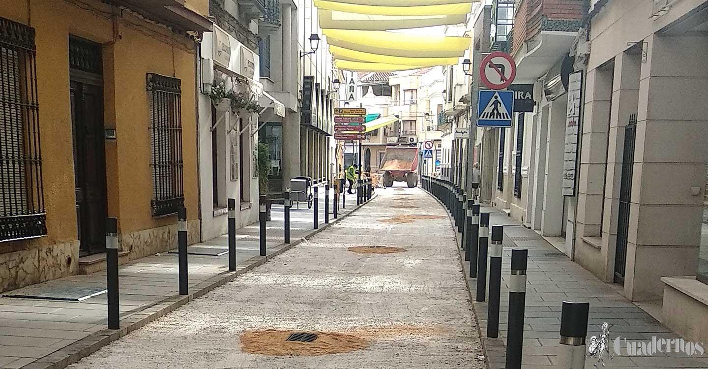 El viernes se abrirá al tráfico la calle Belén