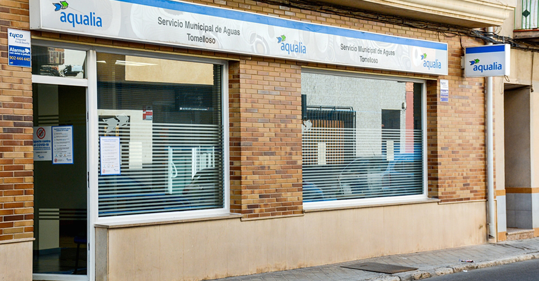 Aqualia reabre su oficina de atención al público en Tomelloso