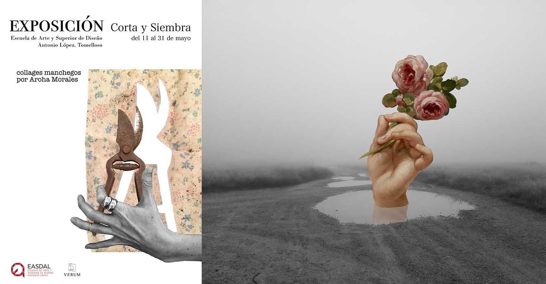 """La artista Aroha Morales expone """"Corta y Siembra"""" en la Escuela de Arte y Superior de Diseño Antonio López de Tomelloso"""