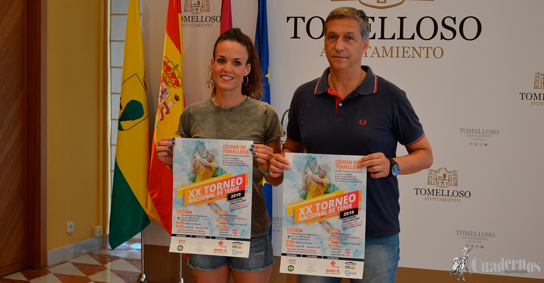 """Arranca el XX Torneo Nacional de Tenis """"Ciudad de Tomelloso"""""""
