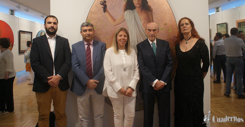 """El Museo de Arte Contemporáneo Infanta Elena se embellece con la exposición de pintura y dibujo """"Arte y Vida"""" de Caroline Culubret"""