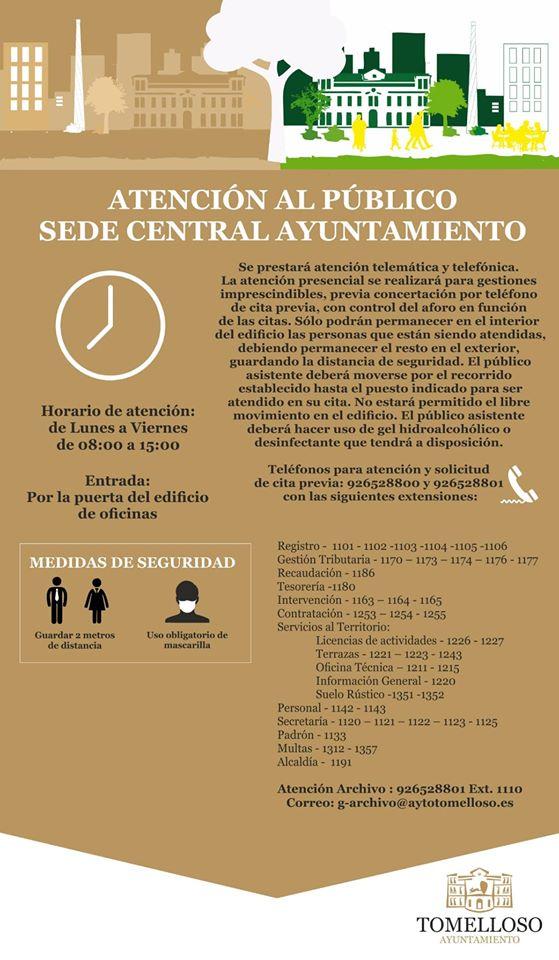 Atencion Ciudadano Ayuntamiento Tomelloso