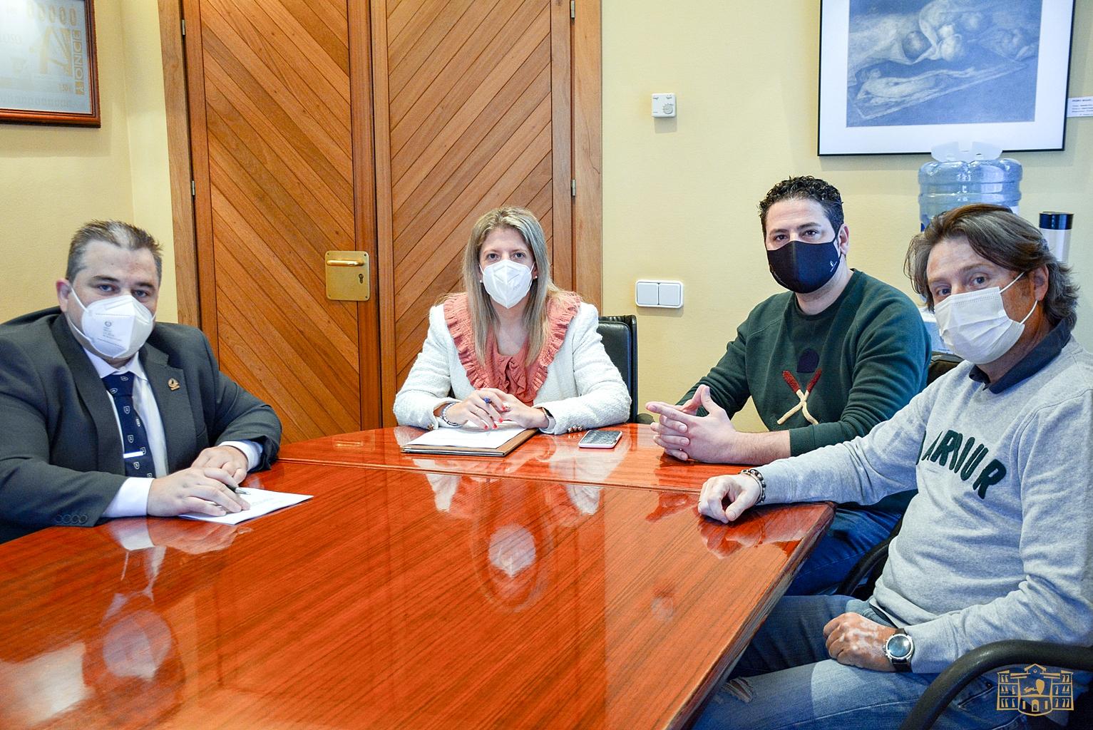 El Ayuntamiento de Tomelloso y la AECT firman un convenio de colaboración dotado con 18.000 €
