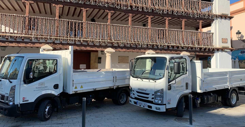 El Ayuntamiento de Tomelloso continúa renovando su flota de vehículos industriales cumpliendo con los objetivos de eficiencia energética del PMUS