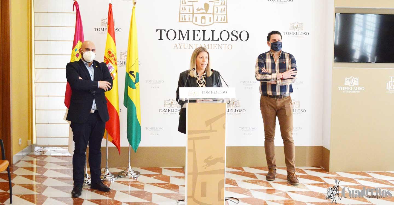 Inmaculada Jiménez presenta las ayudas de concesión directa para autónomos y pymes de Tomelloso