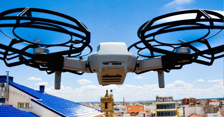 El Ayuntamiento de Tomelloso adquiere un dron para la concejalía de Urbanismo