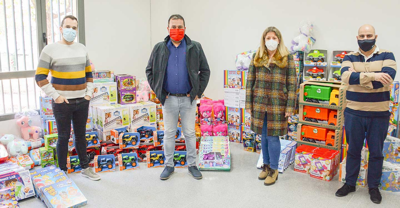 El Ayuntamiento de Tomelloso dona 6.000 € en juguetes a Cruz Roja
