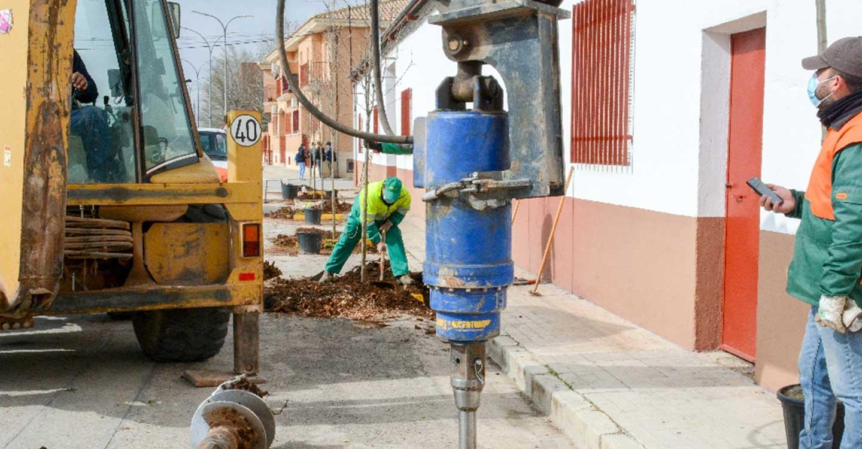 El Ayuntamiento de Tomelloso inicia un importante trabajo de reposición de arbolado