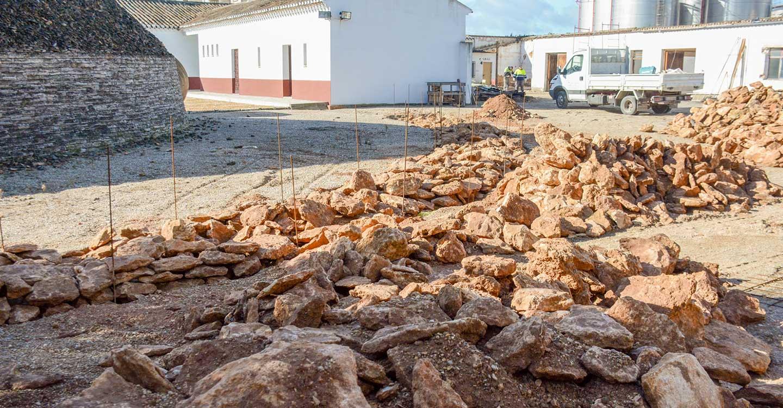 El Ayuntamiento de Tomelloso invierte en mejorar los patios del Museo del Carro
