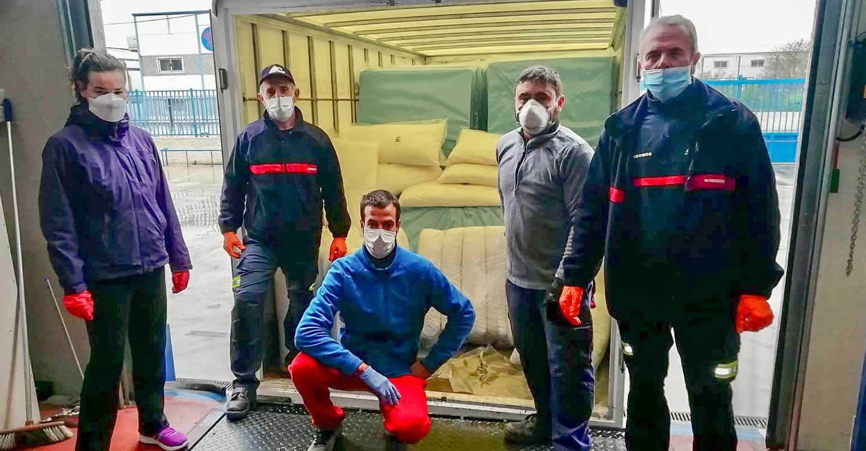 El Ayuntamiento de tomelloso agradece a Joaquín Acedo y a las empresas colaboradoras su esfuerzo para conseguir 40 camas para el hospital