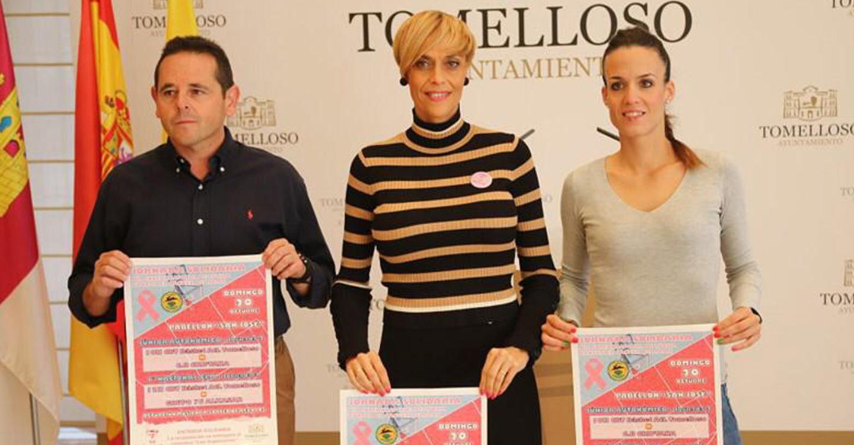 El Basket Atlético Tomelloso celebrará este domingo una jornada solidaria contra el cáncer de mama