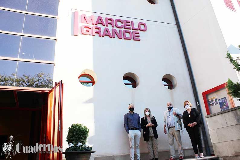 Tomelloso homenajea a Marcelo Grande con el bautizo oficial del Teatro Municipal
