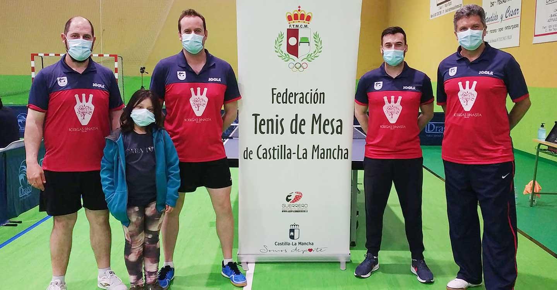 Bodegas Dinastía Vive Tomelloso se proclama campeón de la Liga Regular de Tenis de Mesa 2020/2021