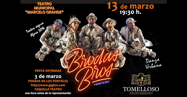 Brodas Bros presenta su espectáculo