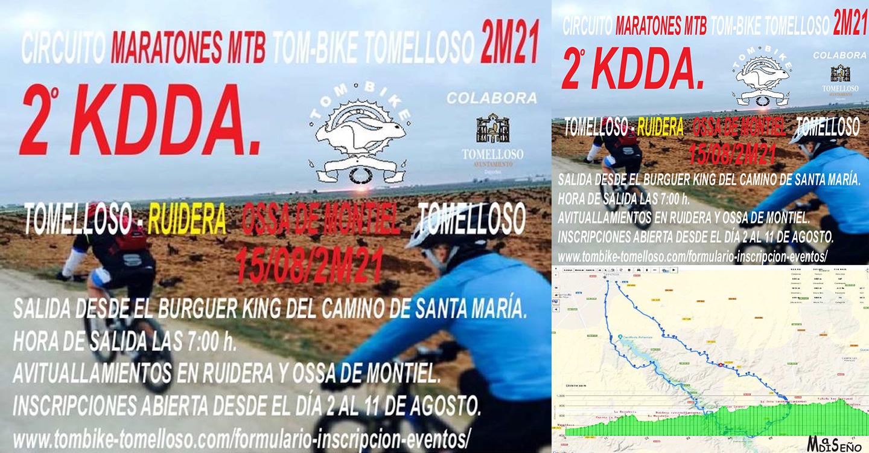 El Club BTT Tombike Tomelloso organiza su 2ª Maratón Cicloturista