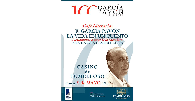 Café Literario en homenaje a Francisco García Pavón