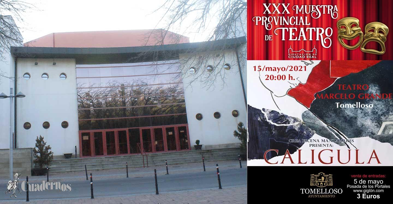 El sábado 15 de Mayo cita con el Teatro en Tomelloso con la obra