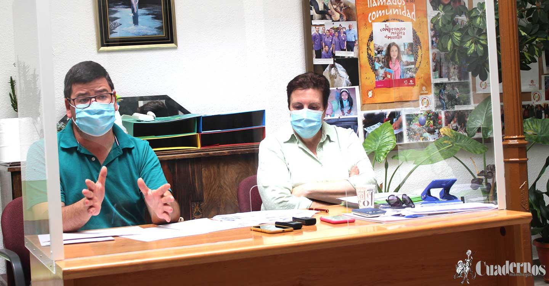 Cáritas de Tomelloso presenta los datos de sus actuaciones en el mes de junio y critica la falta de servicios en Tomelloso para los temporeros