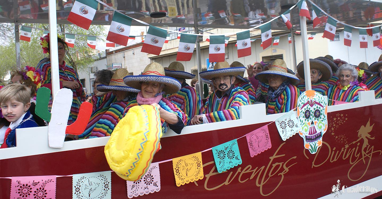 5 Grupos participarán esta tarde en el Gran Desfile de Peñas Locales de la ciudad de Tomelloso