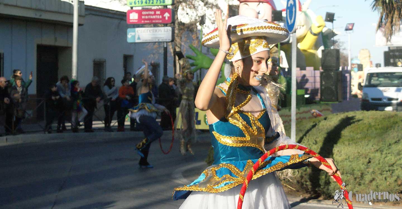 Gran inicio del Carnaval 2020 de Tomelloso con un espectacular desfile nacional