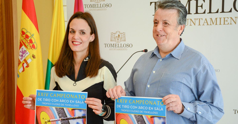 """Un centenar de arqueros participarán el domingo en el XXIV Campeonato de Tiro con Arco en Sala """"Trofeo Ciudad de Tomelloso"""""""