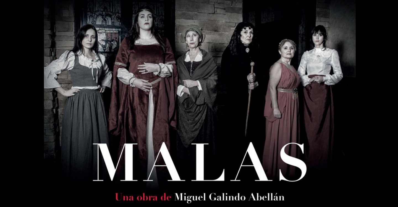 """El Centro de la Mujer del Ayuntamiento de Tomelloso programa para el viernes 21 el espectáculo teatral """"Malas"""""""