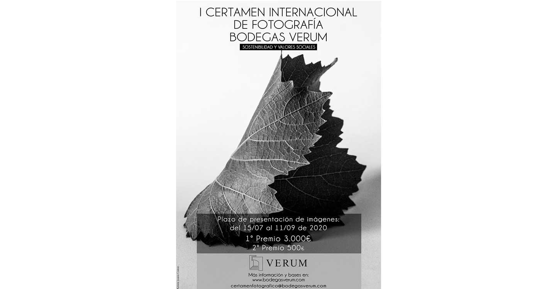 Sostenibilidad y valores sociales para el nuevo Certamen Internacional de Fotografía Bodegas Verum