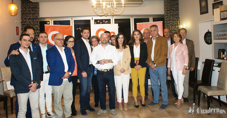 """José Andújar: Ciudadanos presenta una candidatura para el Ayuntamiento """"fuerte, joven y con muchas ganas e ilusión""""."""