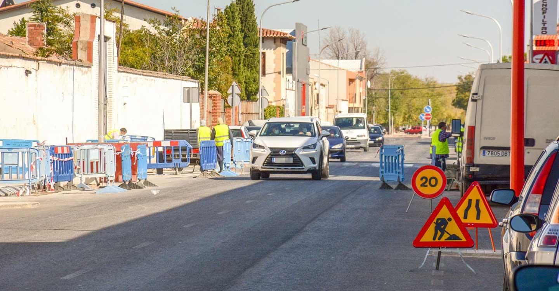 Comienza la segunda fase del proyecto de accesibilidad en la avenida Virgen de las Viñas de Tomelloso