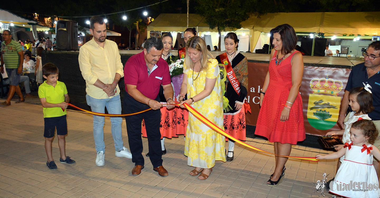 Con una gran asistencia de público se inauguraron las tradicionales Fiestas del Barrio del Carmen, precursoras de las Fiestas locales.