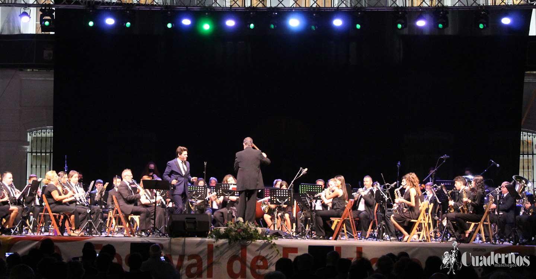 """La Unión Musical """"Ciudad de Tomelloso"""" ofreció un magnífico concierto que nos acerca al próximo inicio de la Feria y Fiestas 2021 de la localidad"""