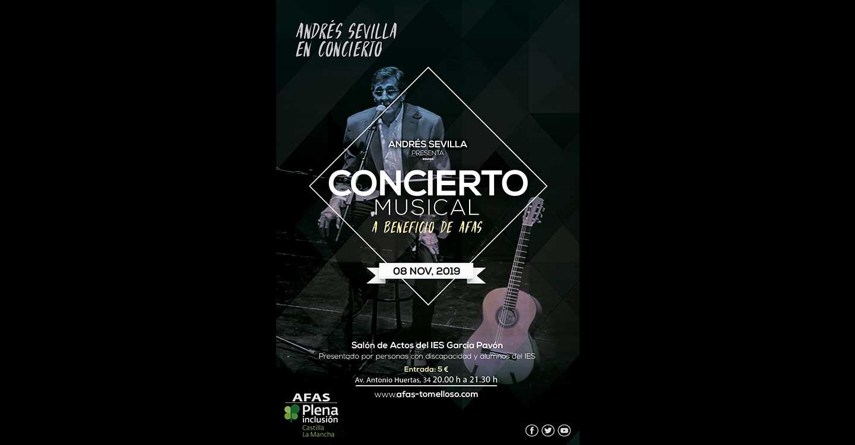 Concierto Musical a beneficio de AFAS Tomelloso