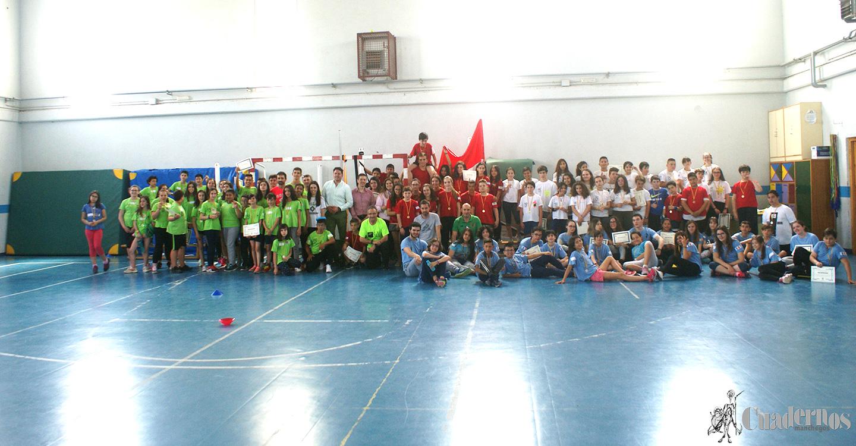 """Concluye el evento final del proyecto """"Impacto del modelo educación deportiva como aprendizaje servicio en el desarrollo de la competencia social y cívica"""" en el IES Eladio Cabañero"""